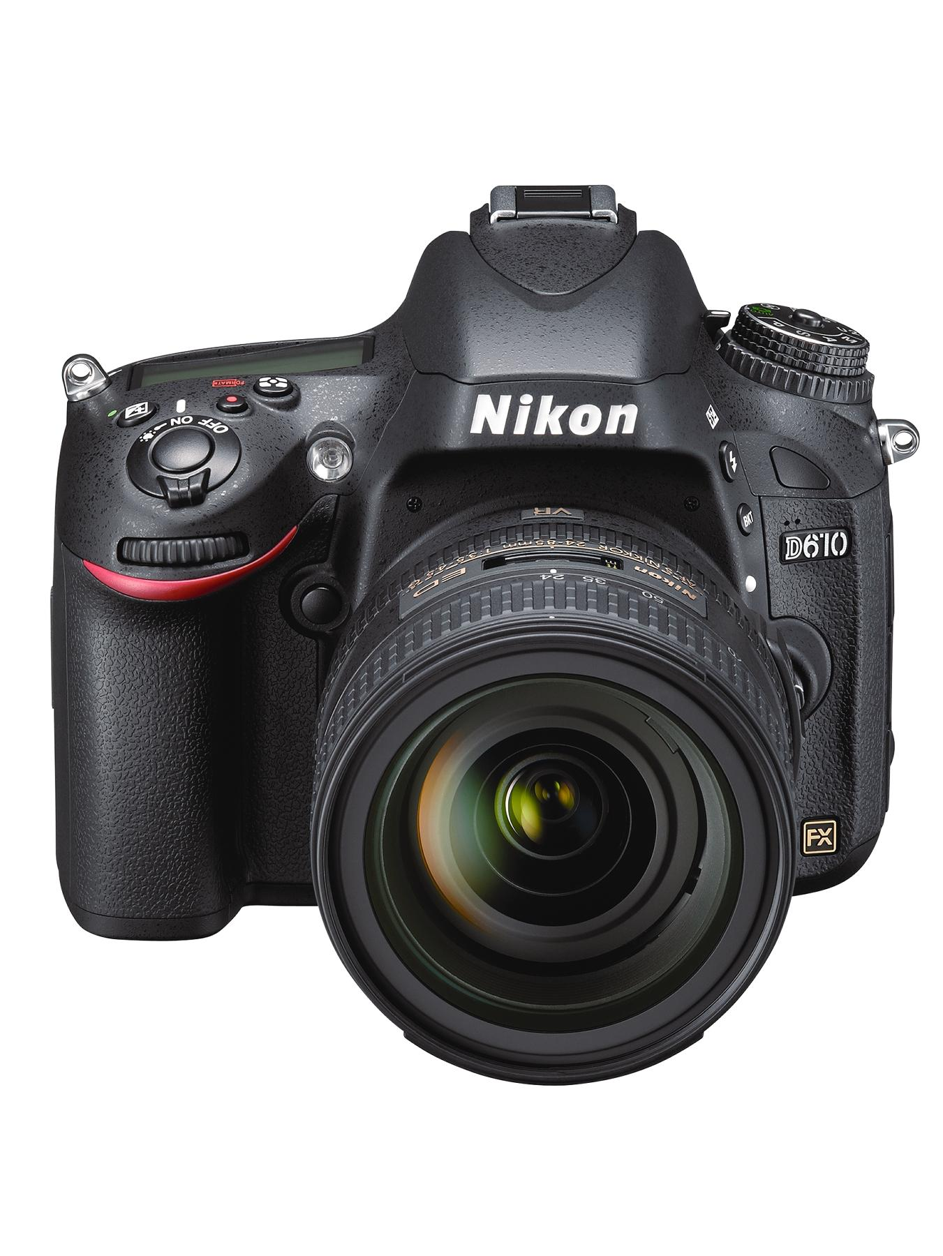 D610 24.3 Megapixel Digital SLR Camera with 24-85mm Lens