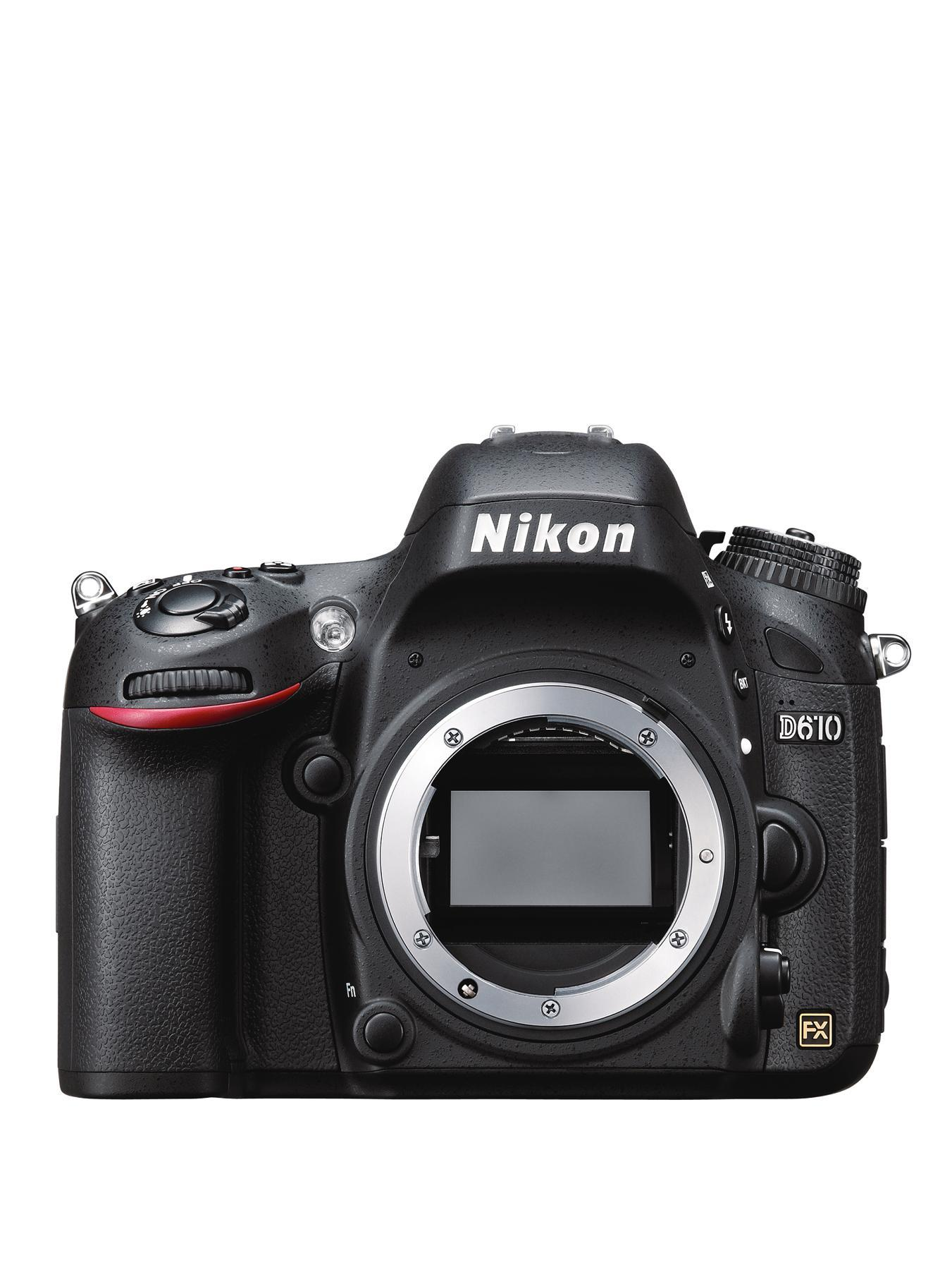 D610 24.3 Megapixel Digital SLR Camera - Body Only