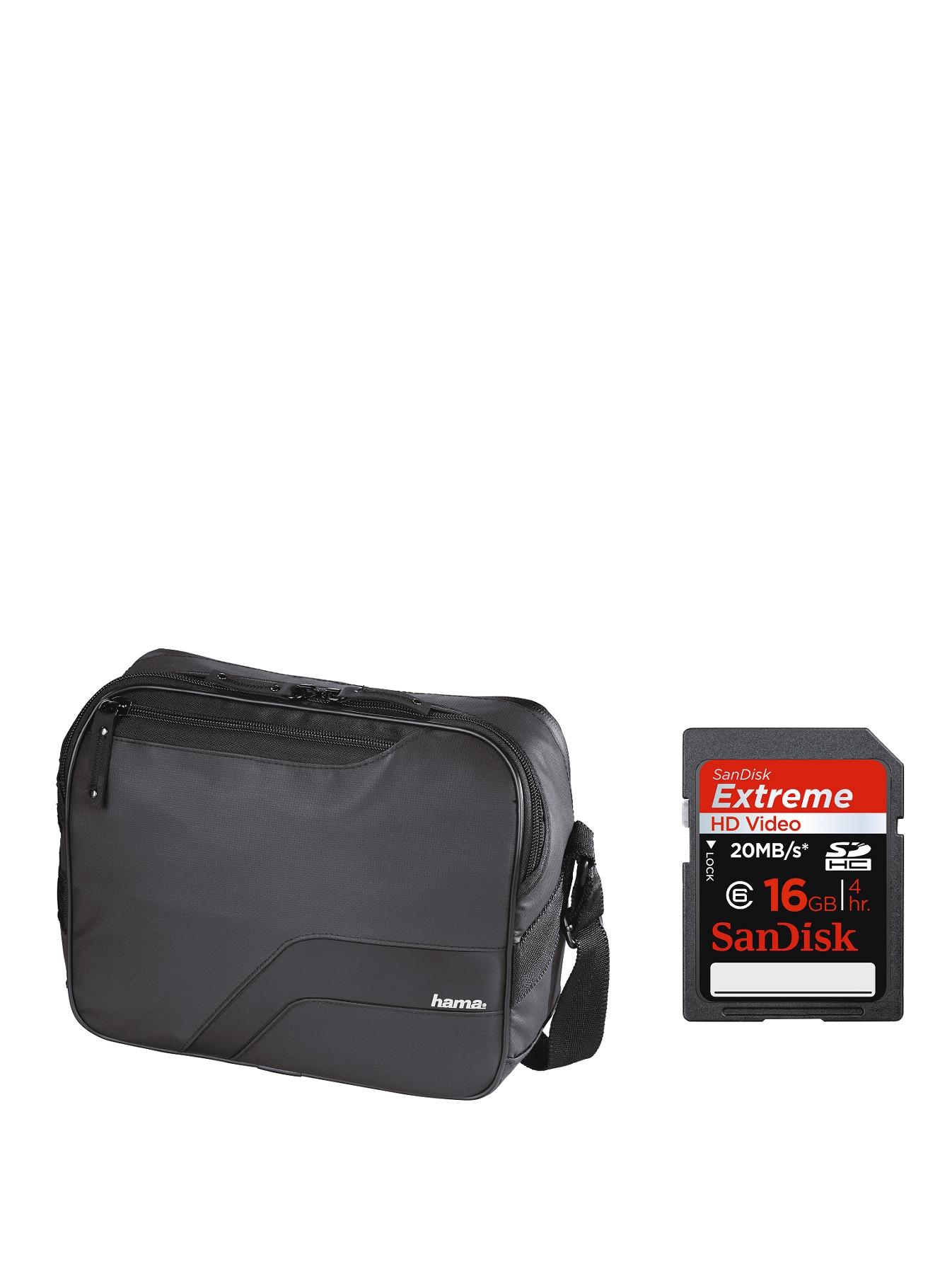 Salinas Camera Bag, 140 + SanDisk Extreme SD 16Gb at Littlewoods Home Shopping