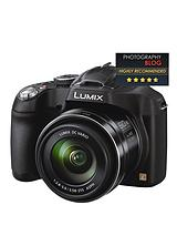 £30 Cashback¹ DMC-FZ72EB-K 16.1 Megapixel Digital Camera with 20mm Ultra Wide Angle Lens and 60x Ultra Zoom