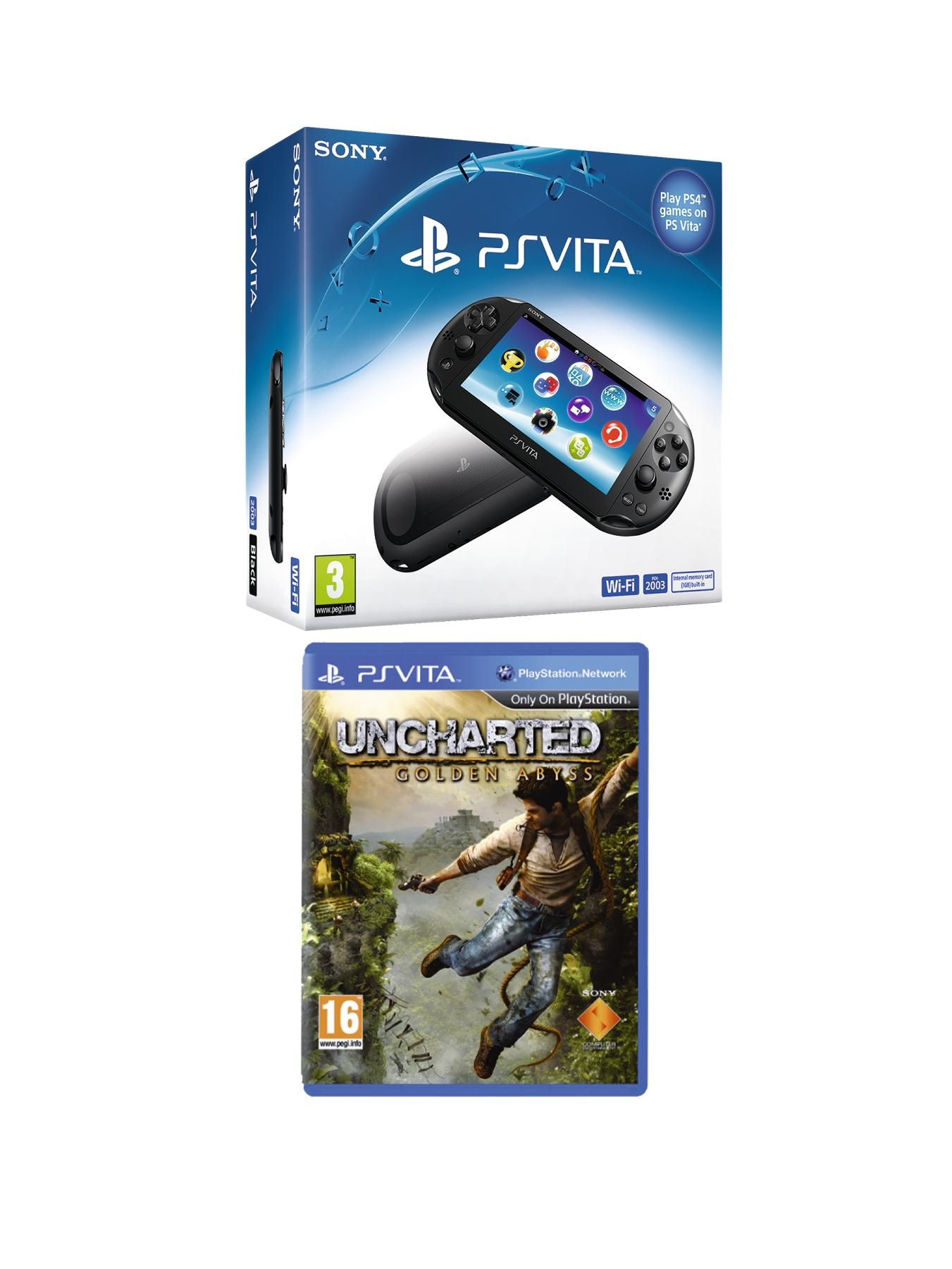 Slim Console with FREE Uncharted: Golden Abyss