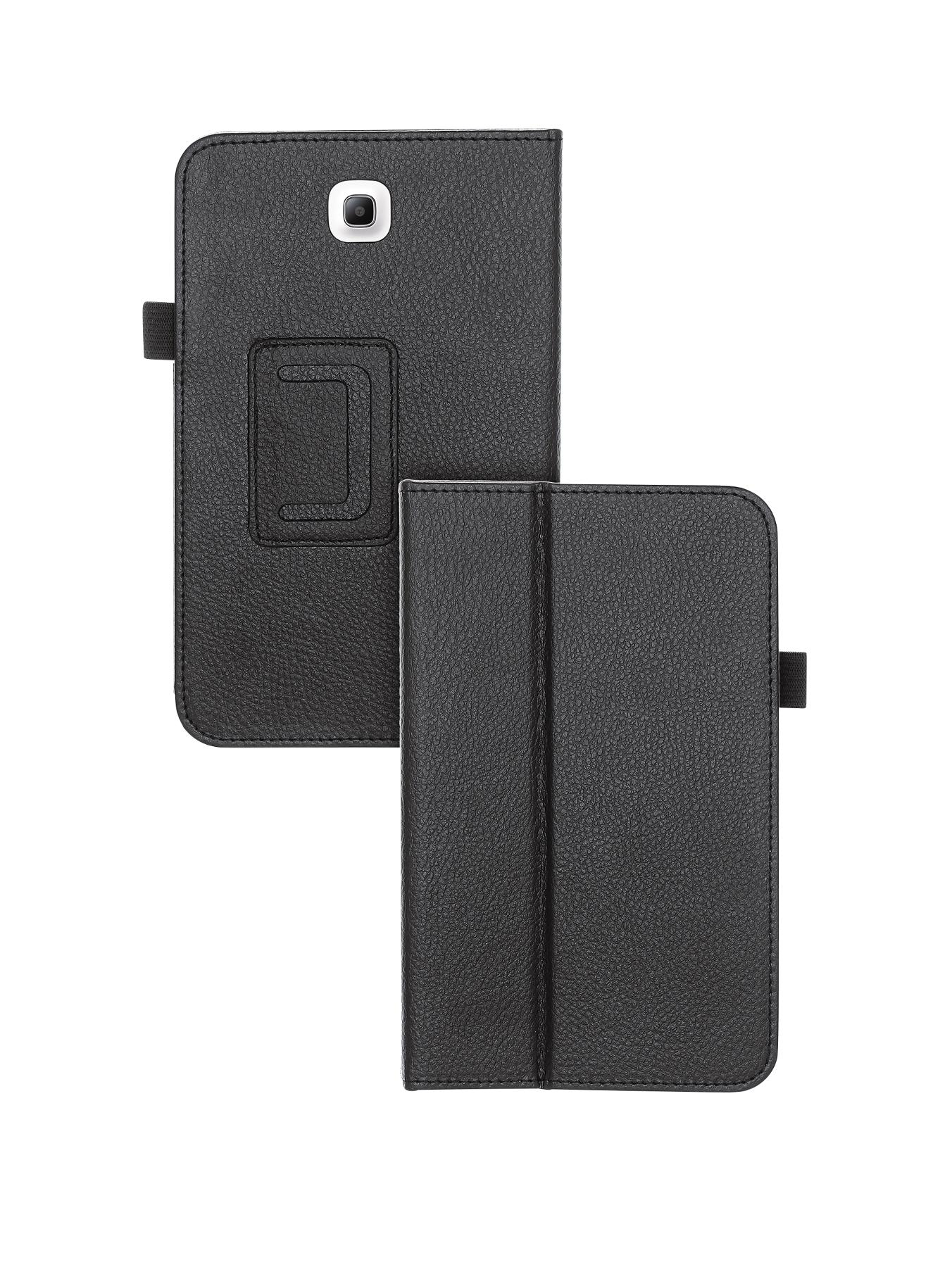 Samsung Galaxy Tab 3 8 inch Folio Flip Case - Black