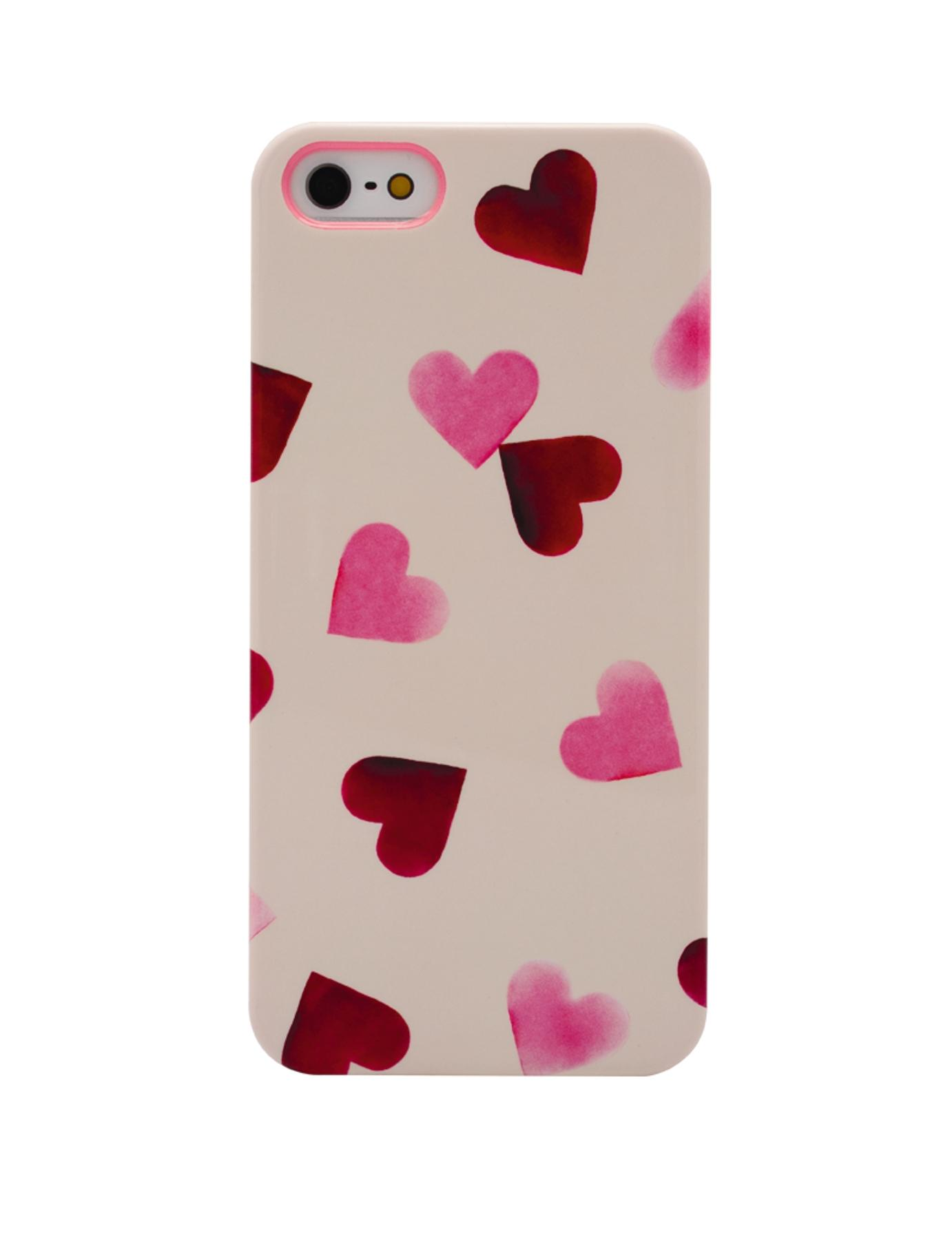 Pink Hearts iPhone 5/5S Case