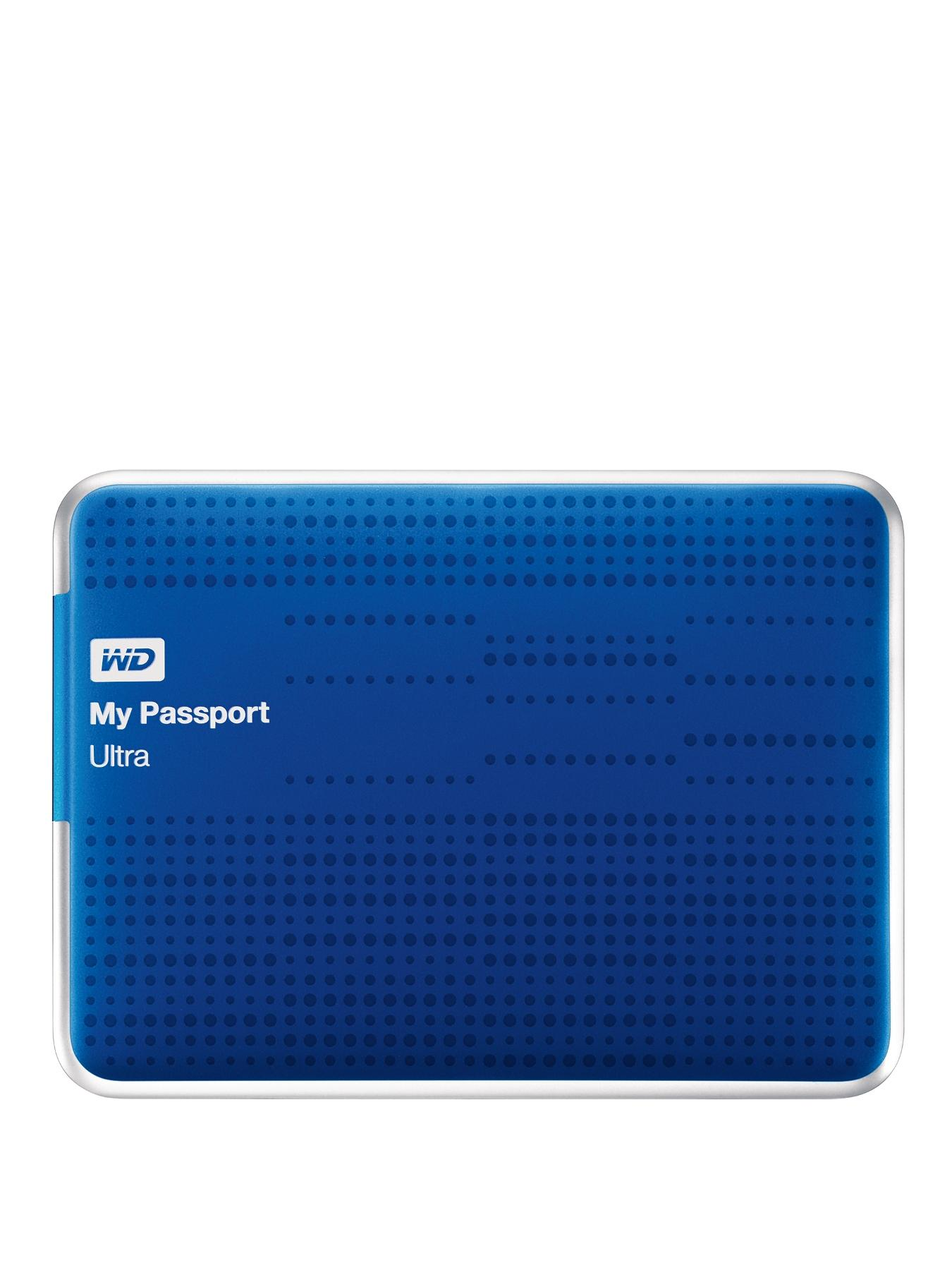 2Tb My Passport Ultra Portable Hard Drive - Blue