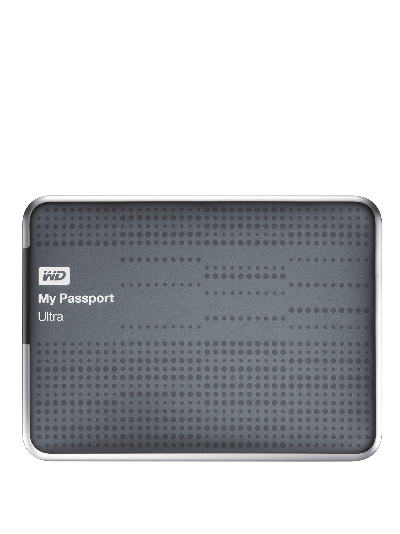 2Tb My Passport Ultra Portable Hard Drive - Silver