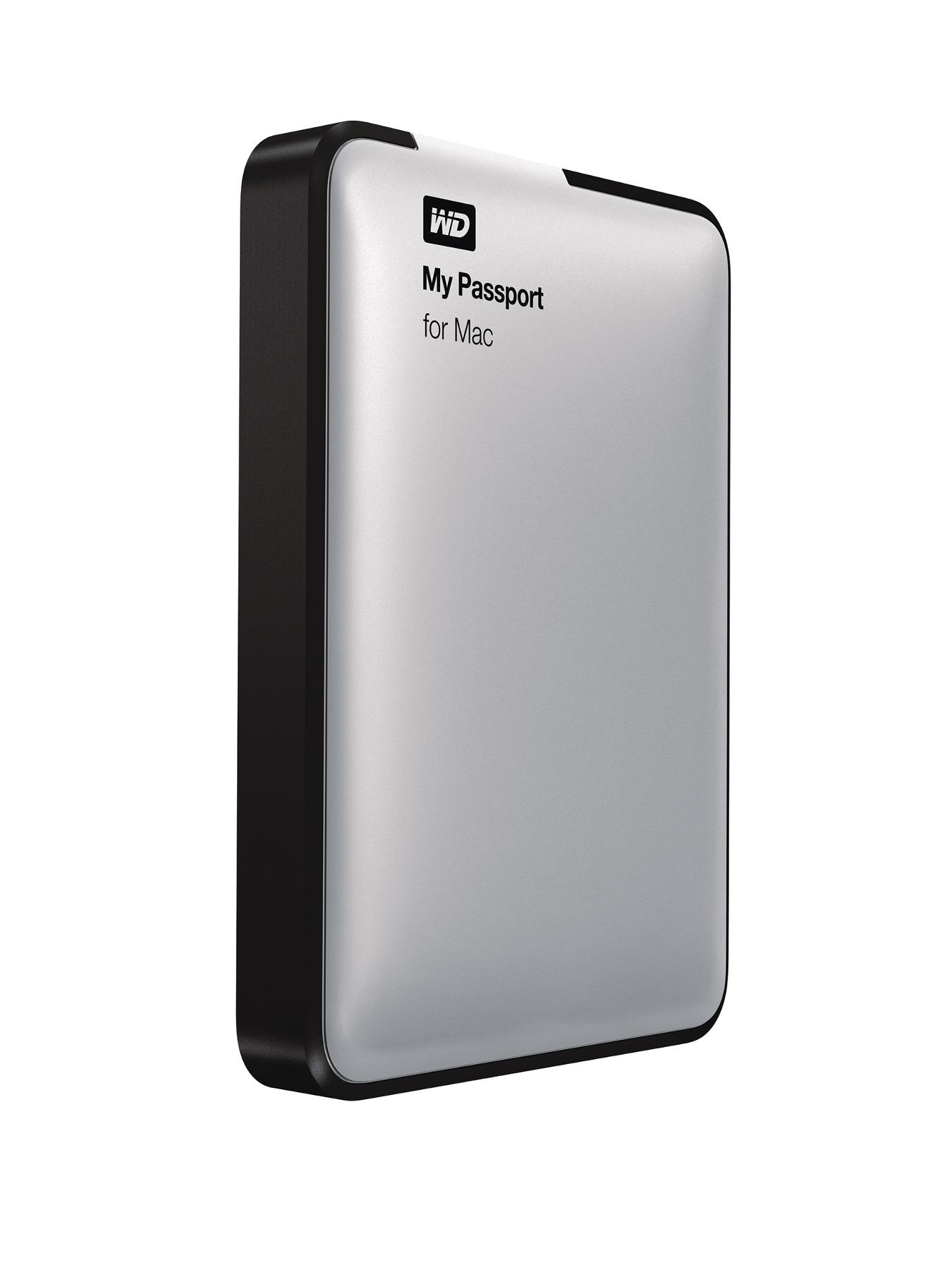 My Passport 500Gb for Mac Portable Hard Drive - Silver