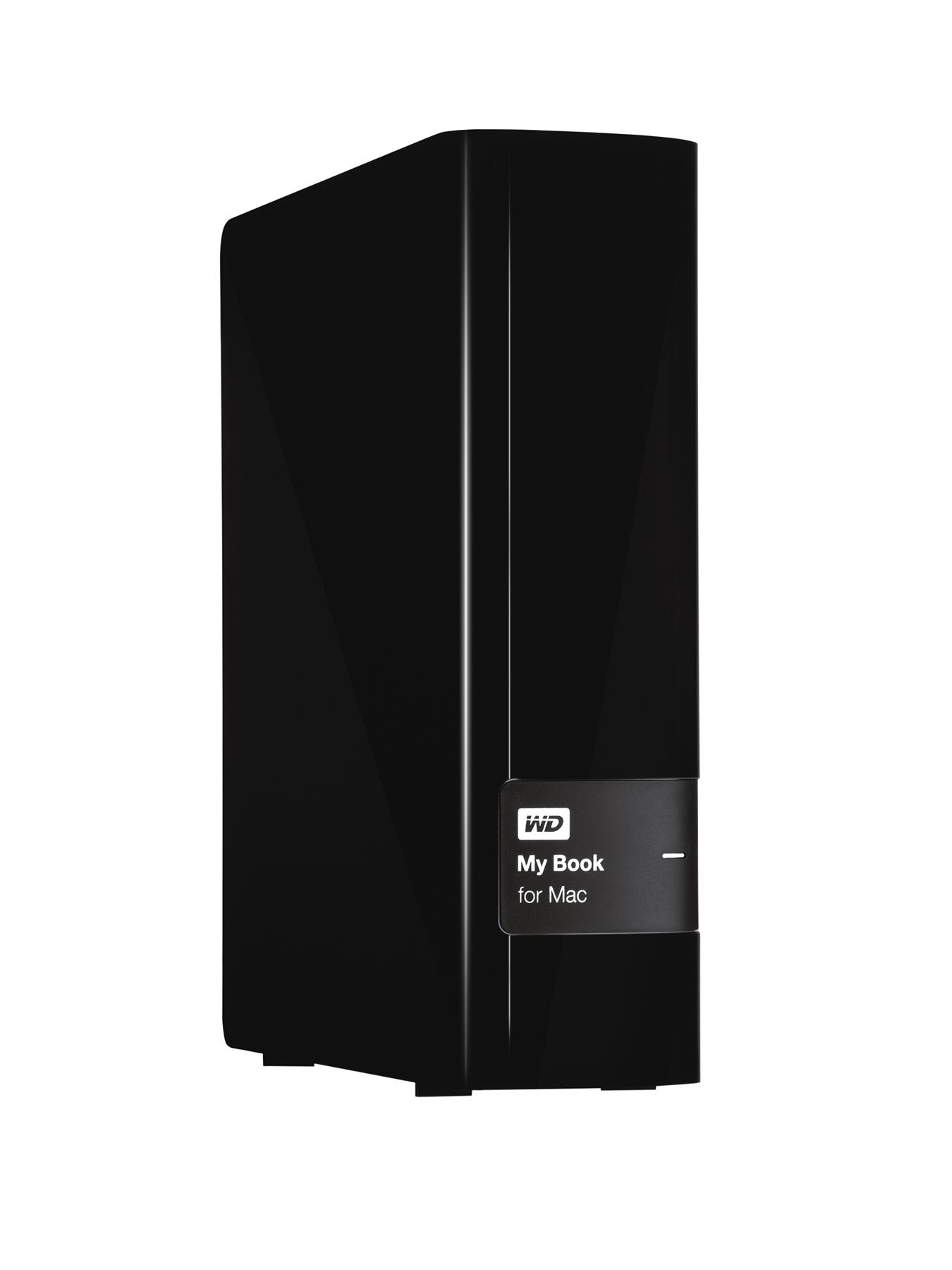 My Book for Mac 3Tb Desktop External Hard Drive - Black
