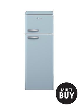 swan-sr11010bln-55cm-retro-top-mount-fridge-freezer-blue