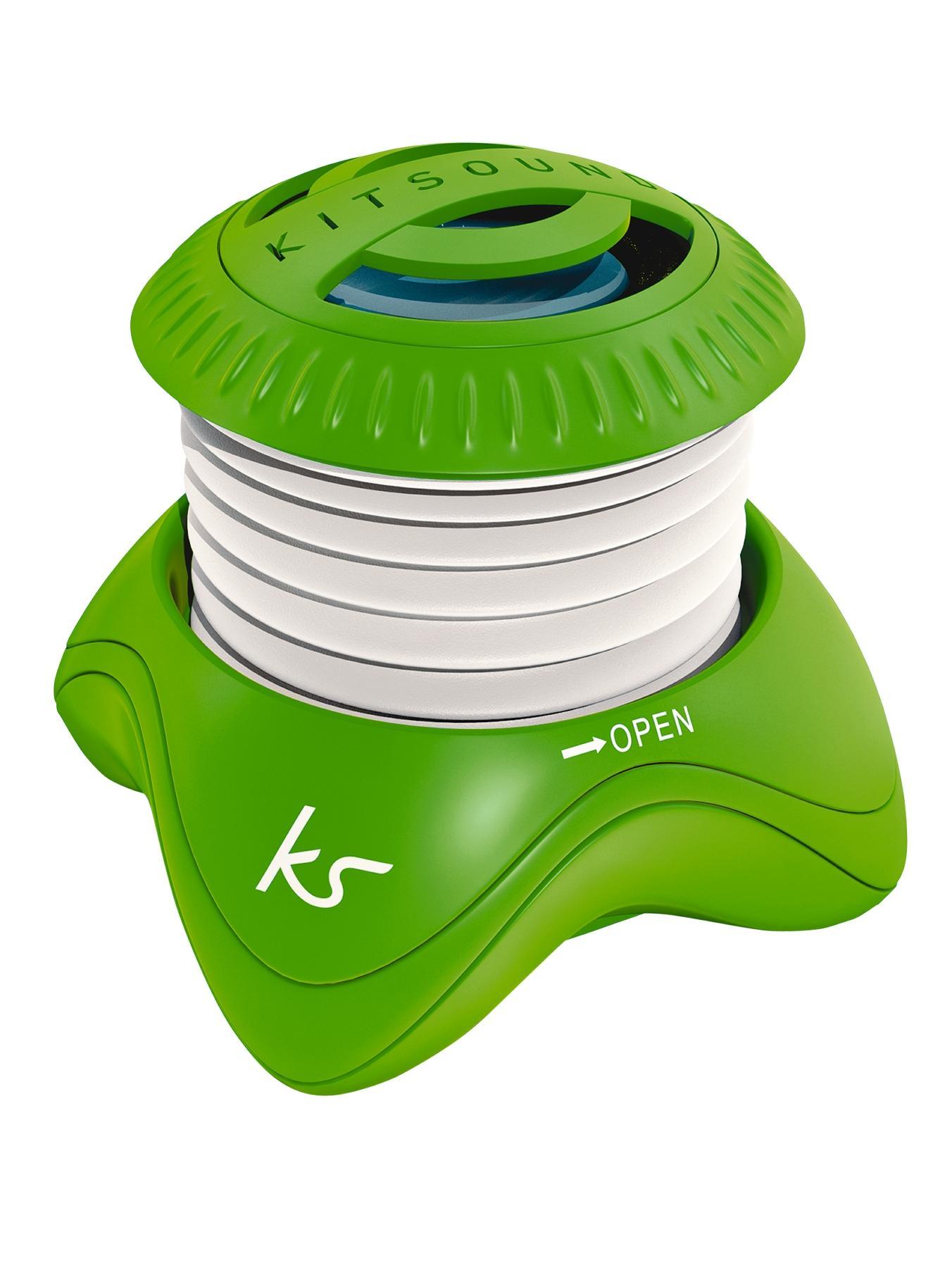 Portable Capsule Speaker - Green at Littlewoods