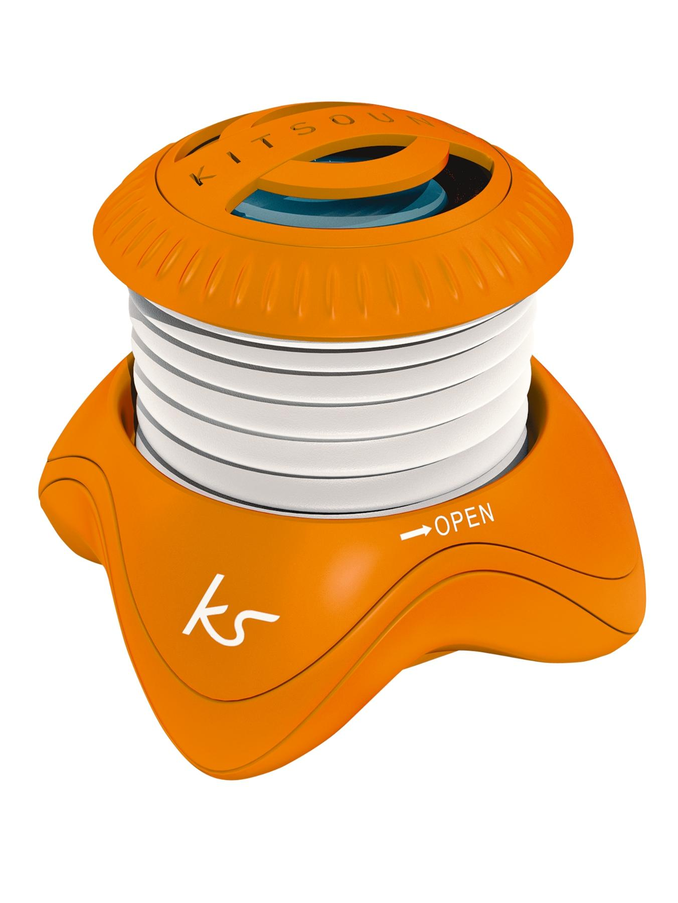 Portable Capsule Speaker - Orange