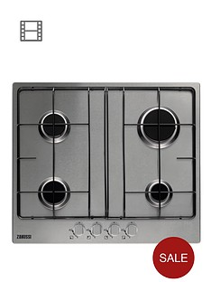zanussi-zgg65414sa-built-in-gas-hob