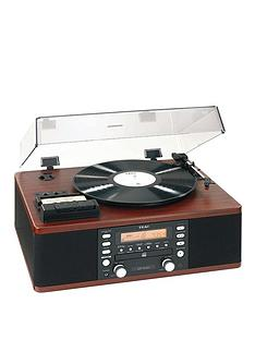 teac-lp-r500abk-copy-station-brown