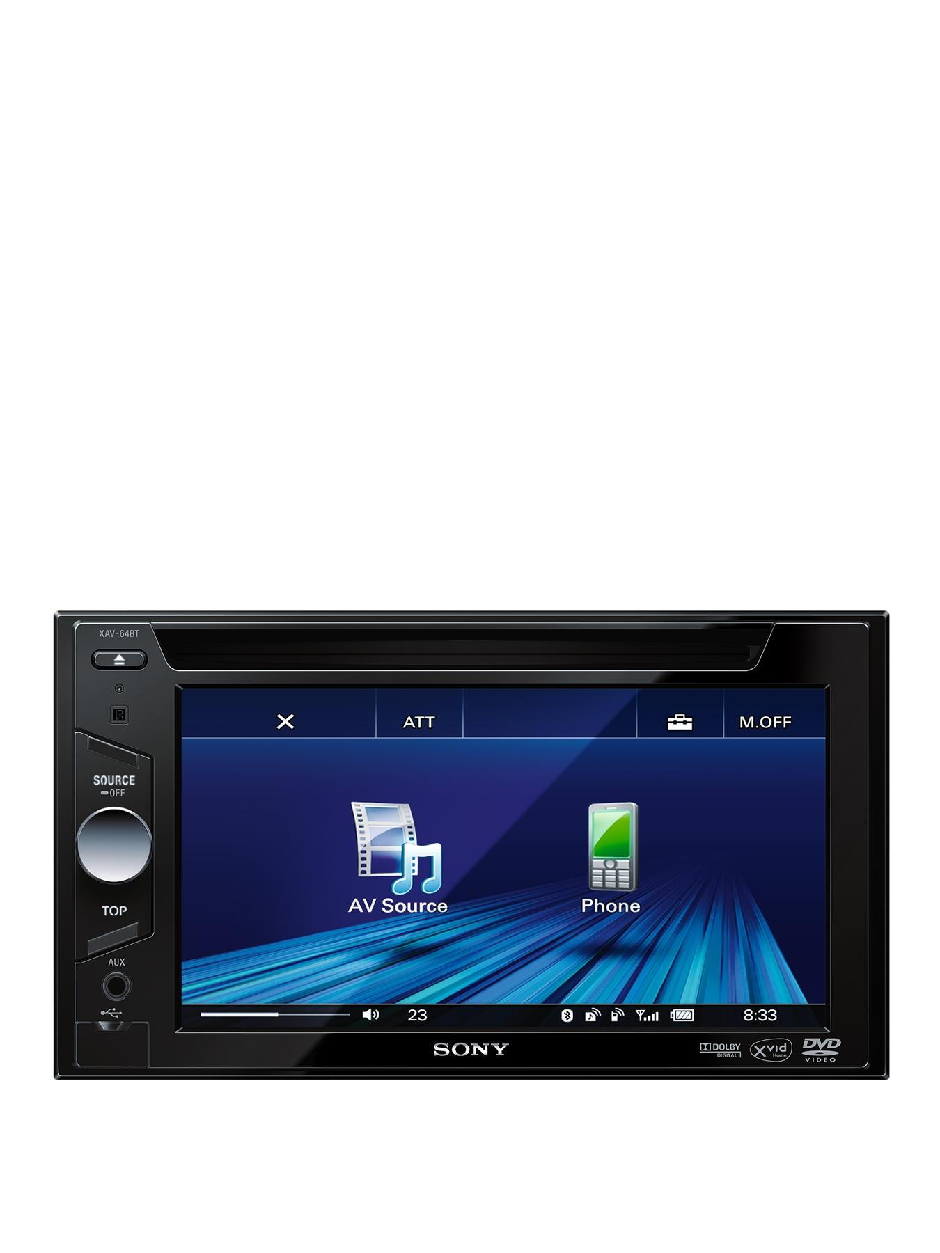Car Stereo with DCCDDVD Player and Bluetooth