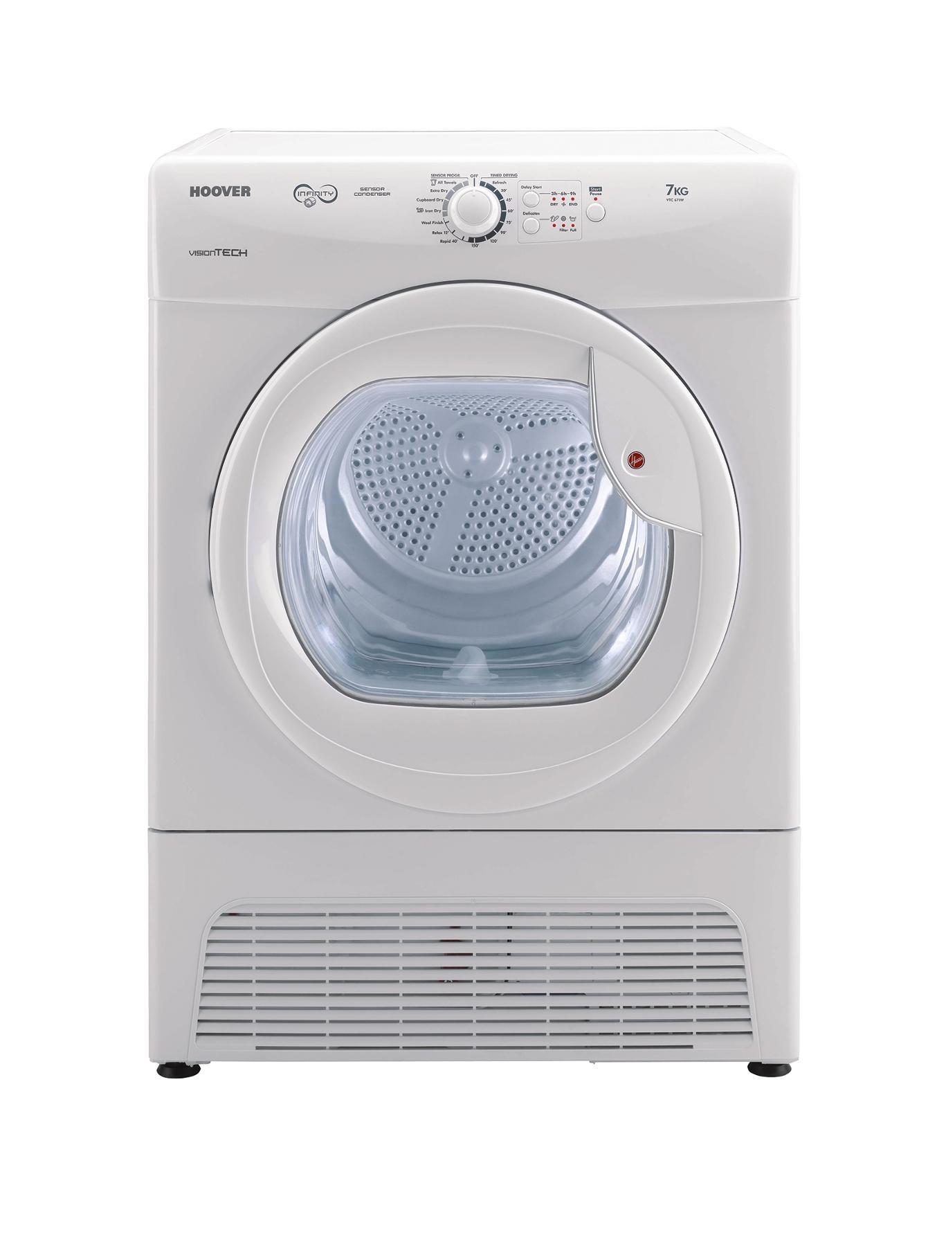 VTC671W 7kg Condenser Sensor Dryer - White
