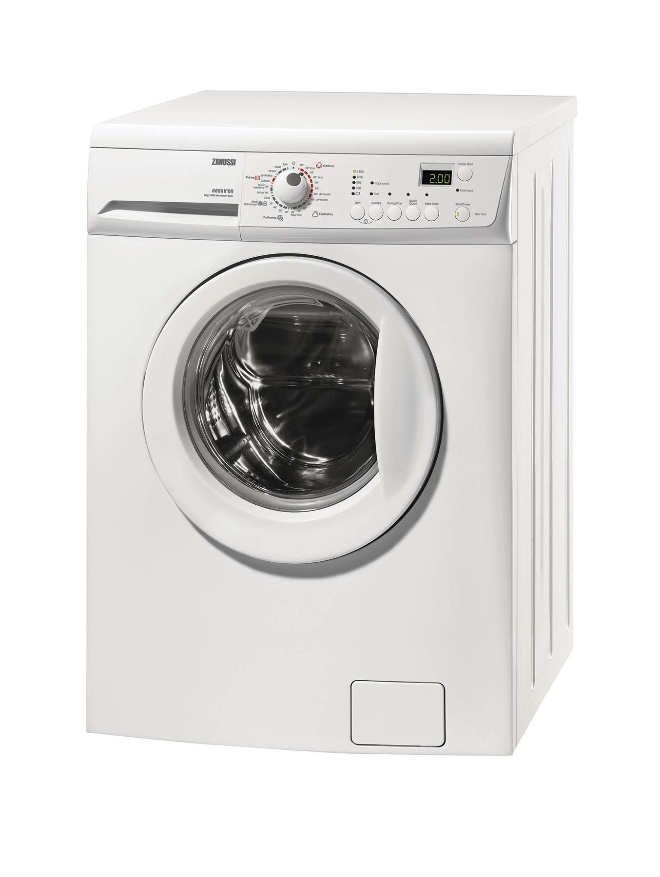 ZKG7145 6kg Wash, 4kg Load, 1400 Spin Washer Dryer - White