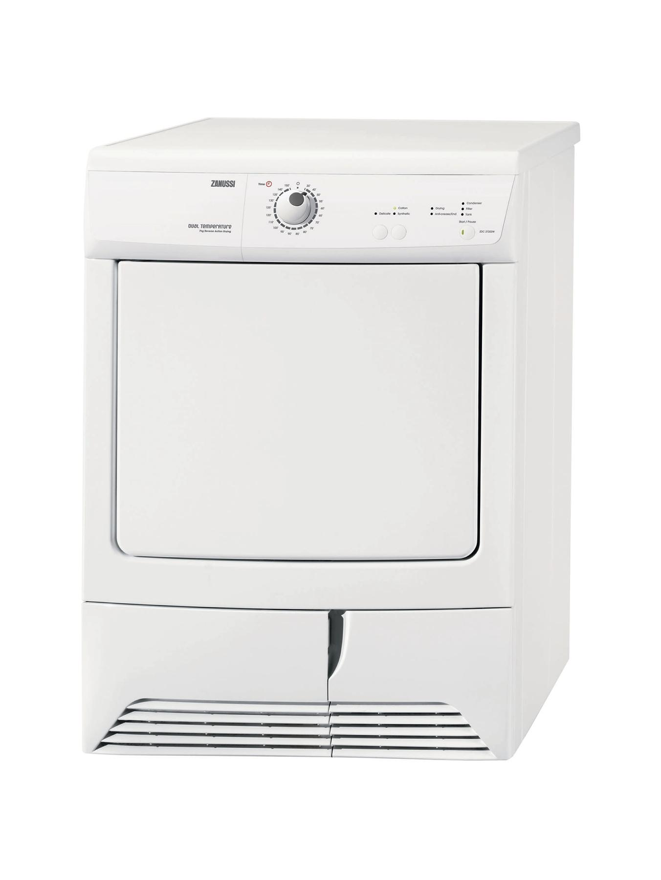 ZDC37202W 7Kg Condenser Dryer - White