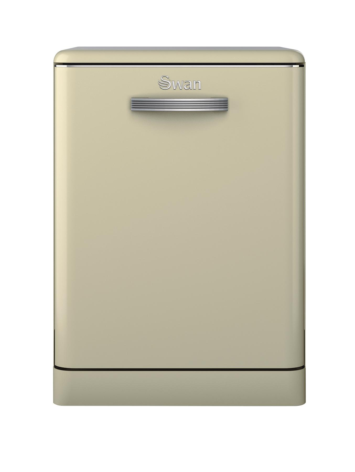 SDW7040CN Retro Dishwasher - Cream