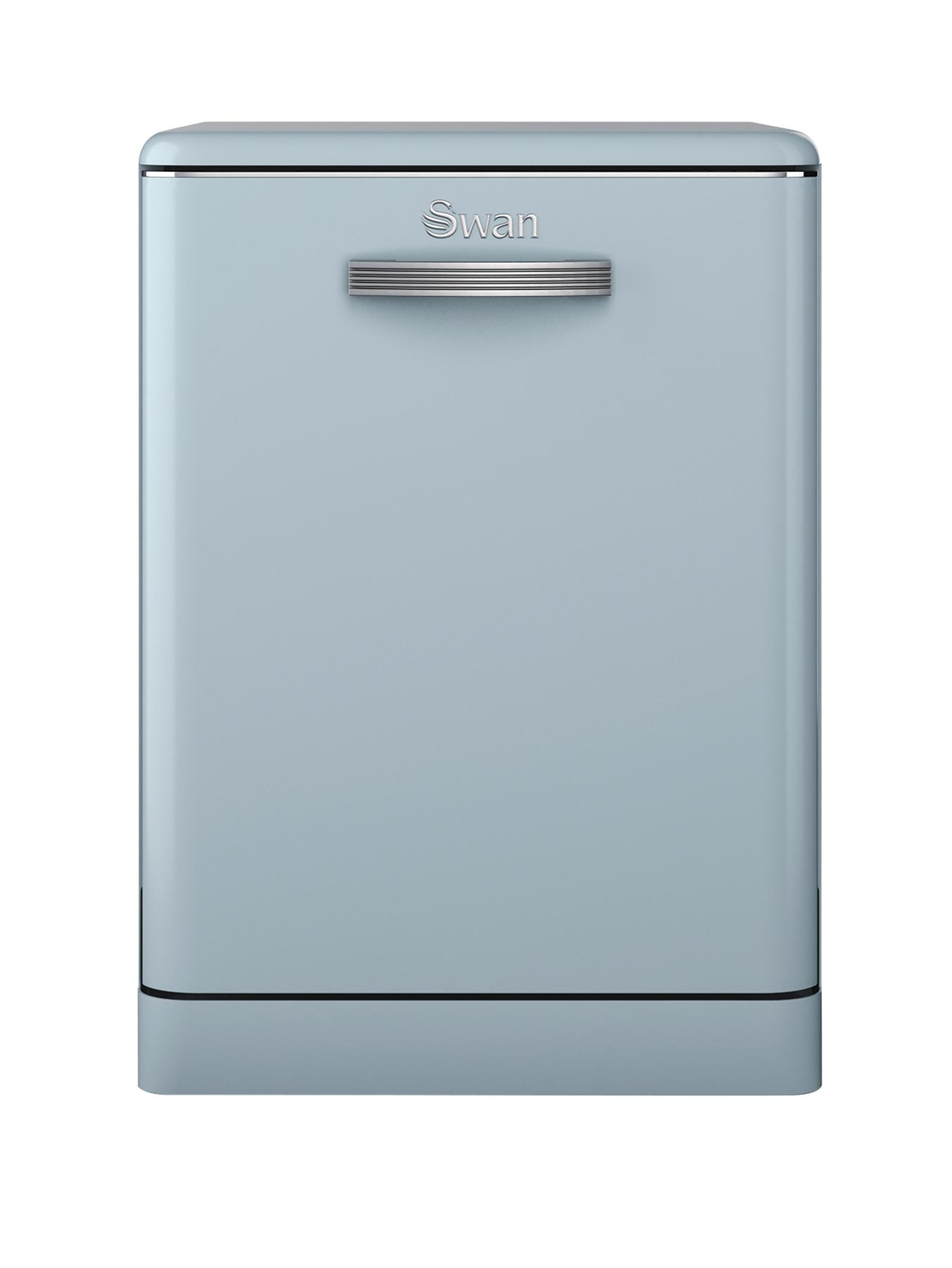 SDW7040BLUN Retro Dishwasher - Blue