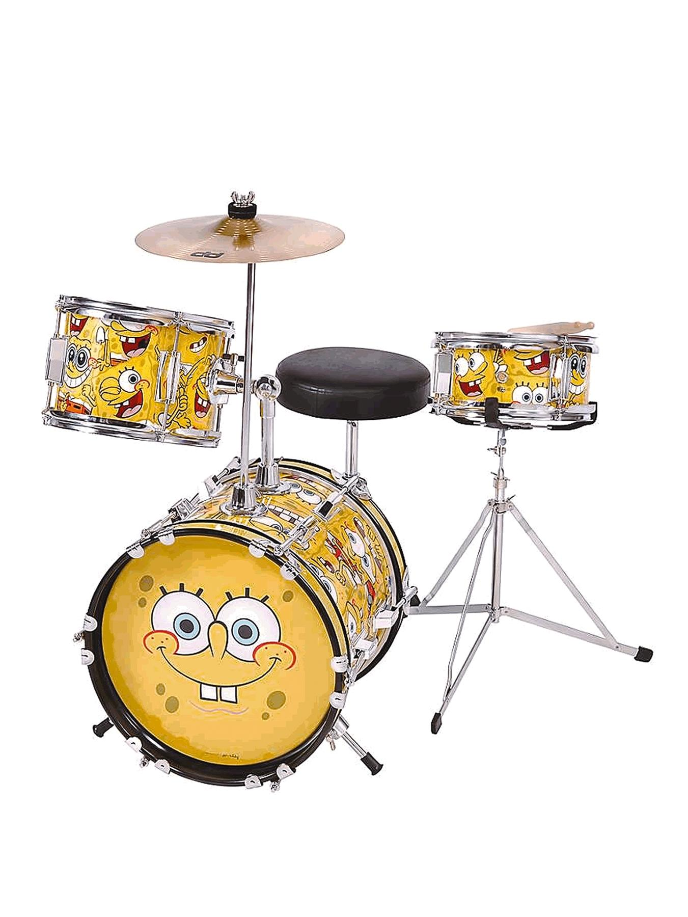 Junior Drum Kit (3 piece) Musical Instrument.