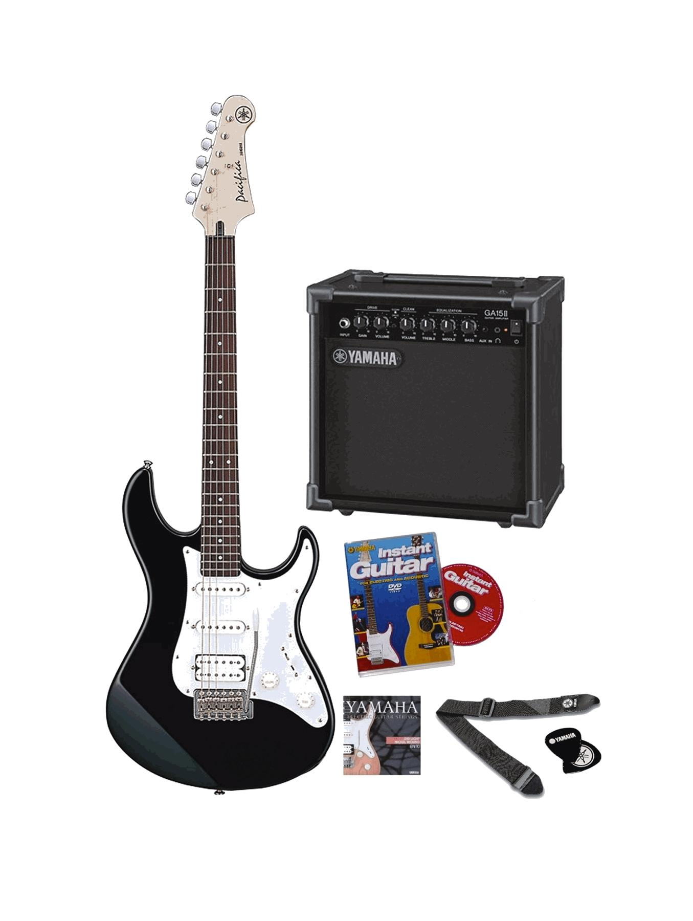 Pacifica Electric Guitar Pack Musical Instrument.