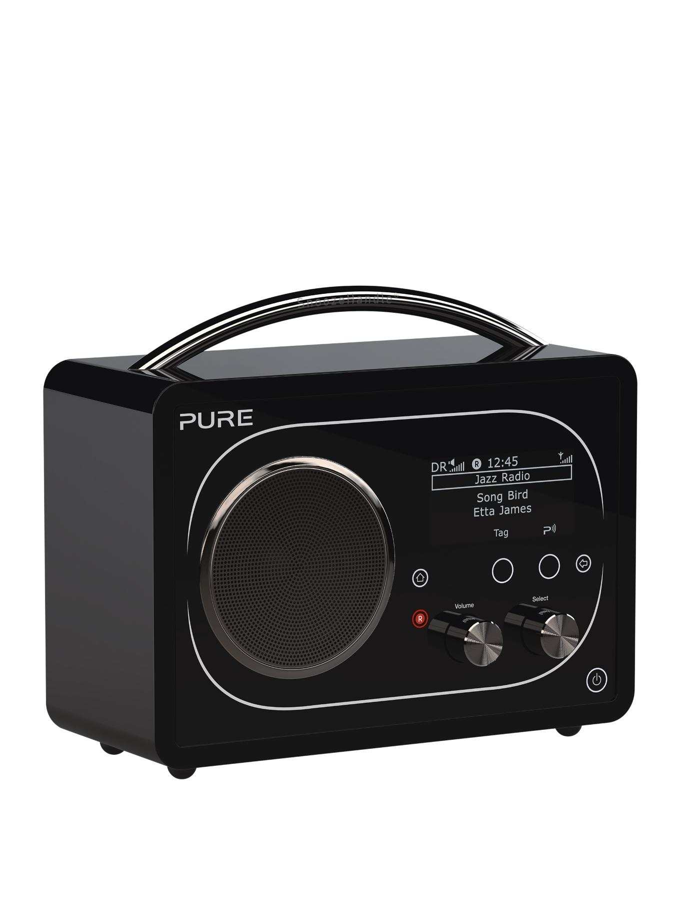 Evoke Radio F4 - Black