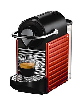 Nespresso Pixie Xn300640 Coffee Machine By Krups  Red