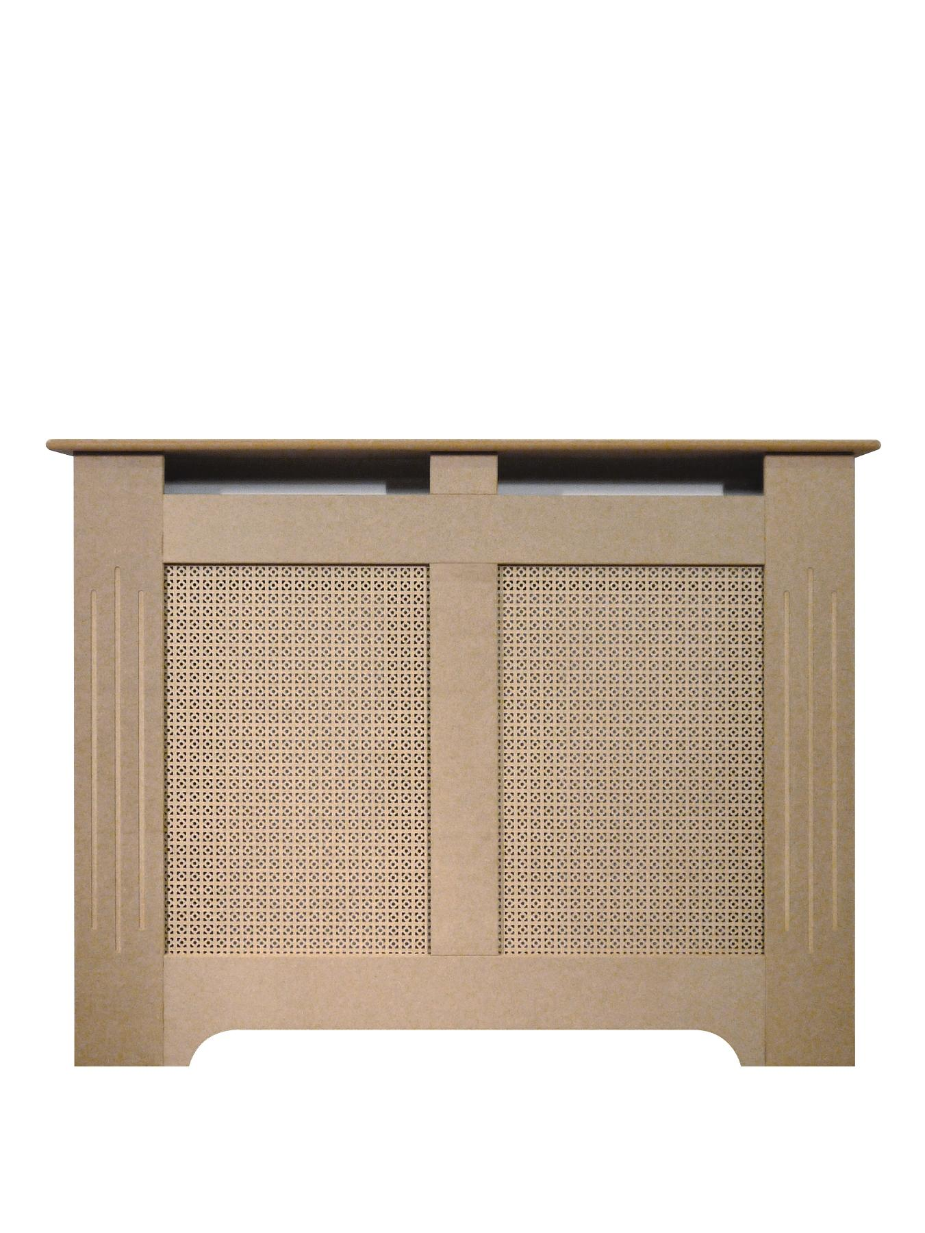 120cm Unfinished MDF Radiator Cover.