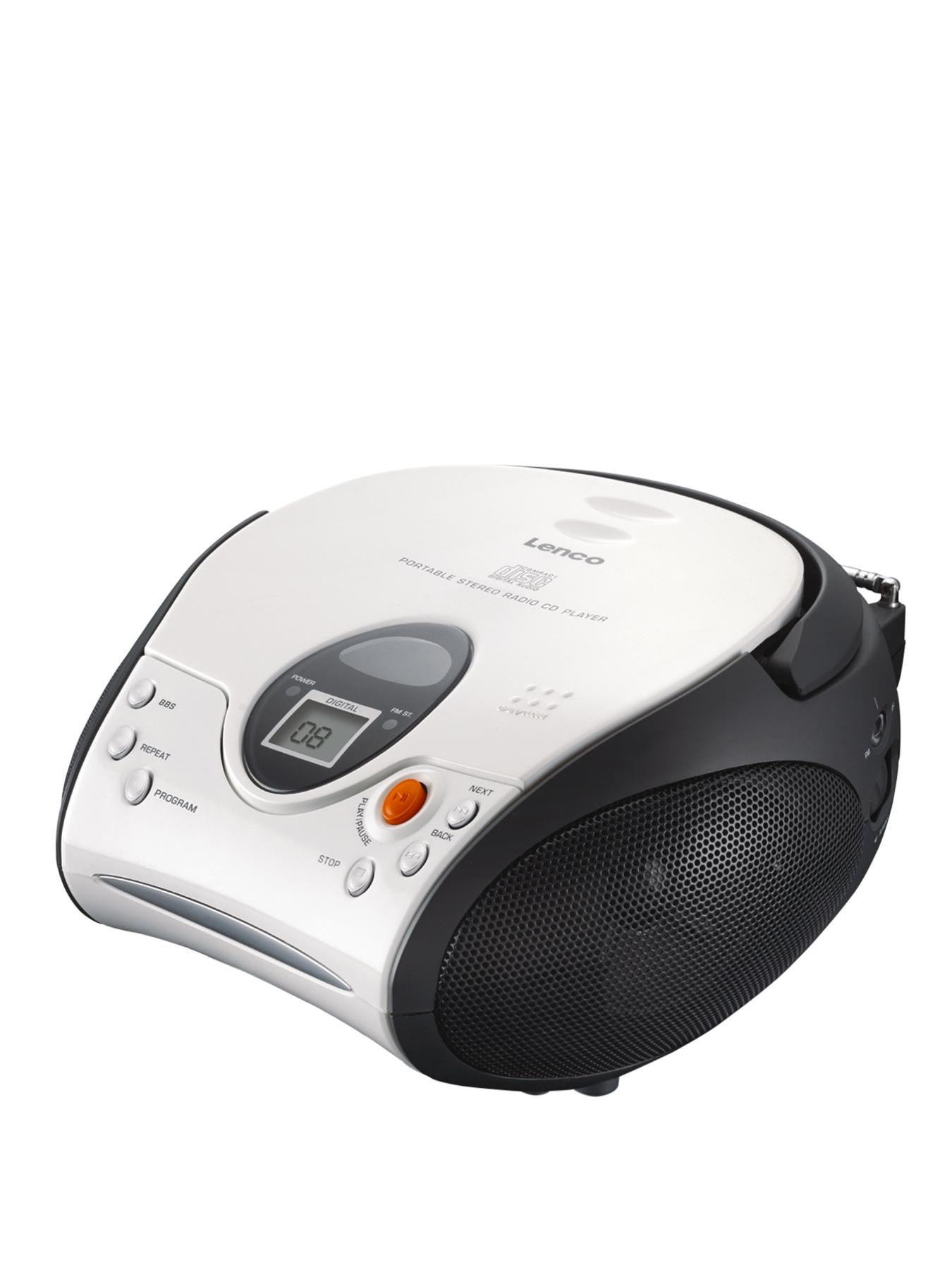 Portable Cd Player- White