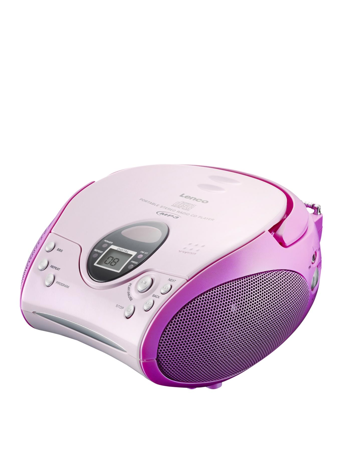 Portable Cd Player- Pink