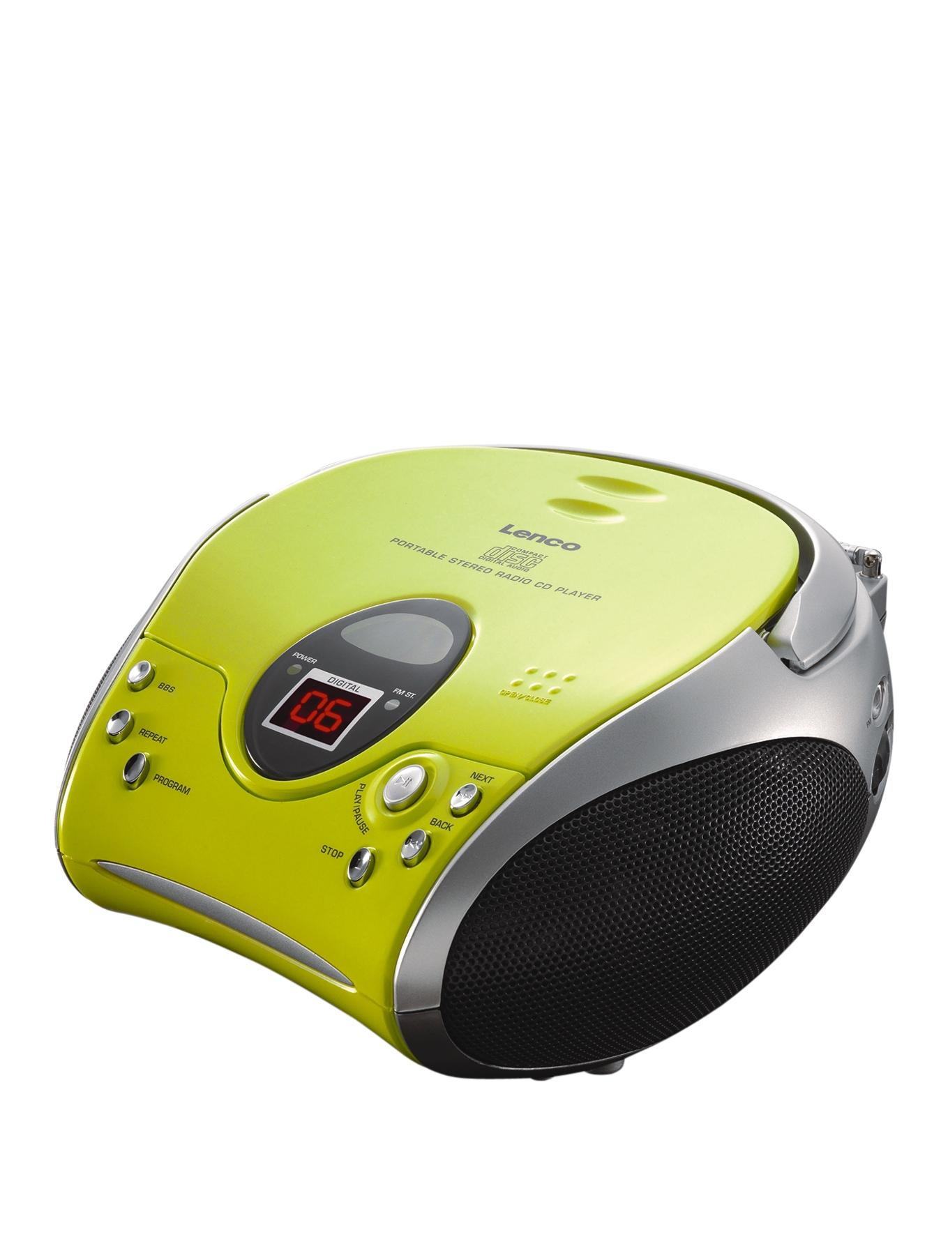 Portable Cd Player- Green