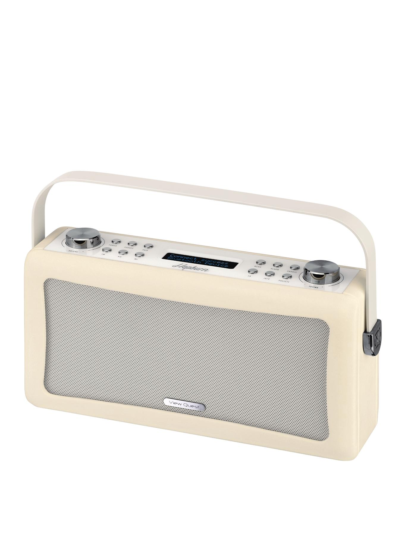 Hepburn Portable Bluetooth DAB Radio - Cream