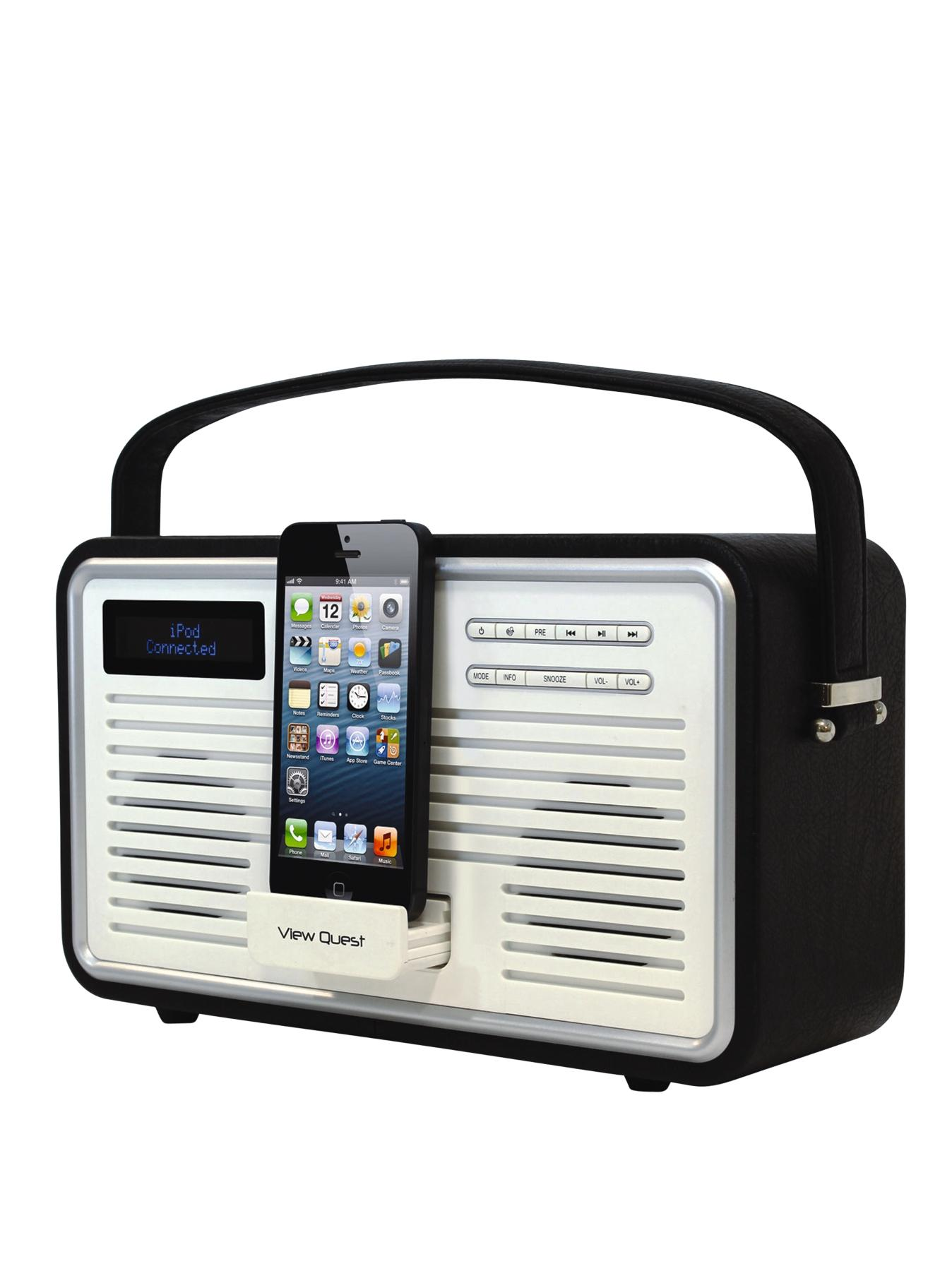 retro radio shop for cheap clock radios and save online. Black Bedroom Furniture Sets. Home Design Ideas