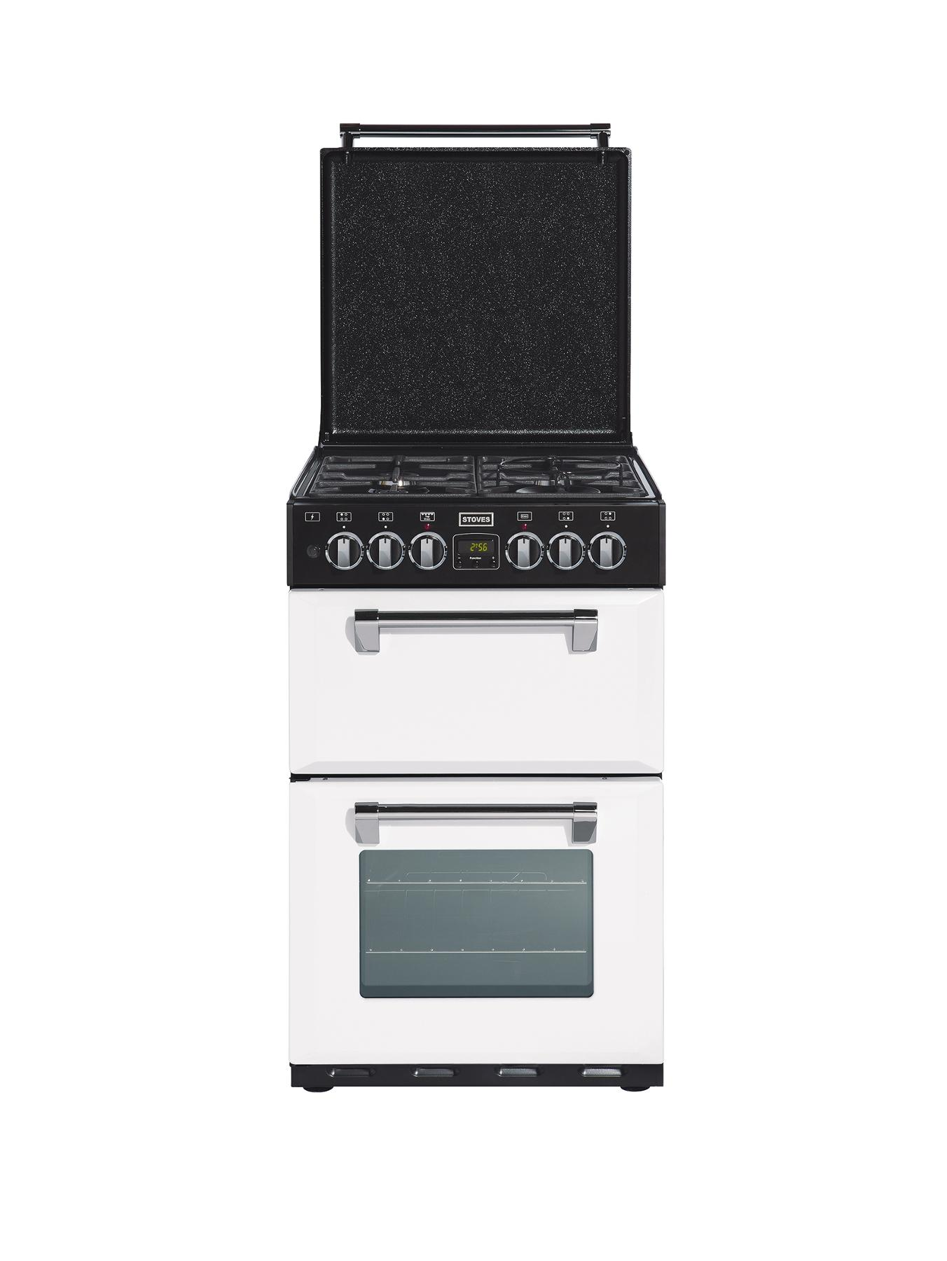 550DFW 55cm Double Oven Dual Fuel Cooker - Icy Brook