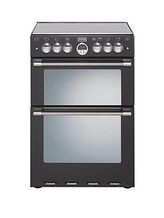 stoves-sterling-mini-range-600e-60cm-electric-ceramic-double-oven-black