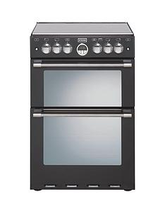 stoves-sterling-mini-range-600ei-60cm-electric-ceramic-fanned-double-oven-black