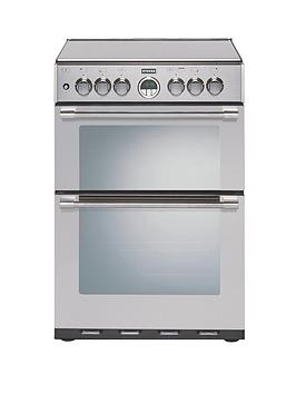 stoves-600g-60cm-double-oven-gas-sterling-mini-range-cooker--stainless-steel