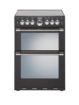 stoves-600g-60cm-double-oven-gas-sterling-mini-range-cooker-black