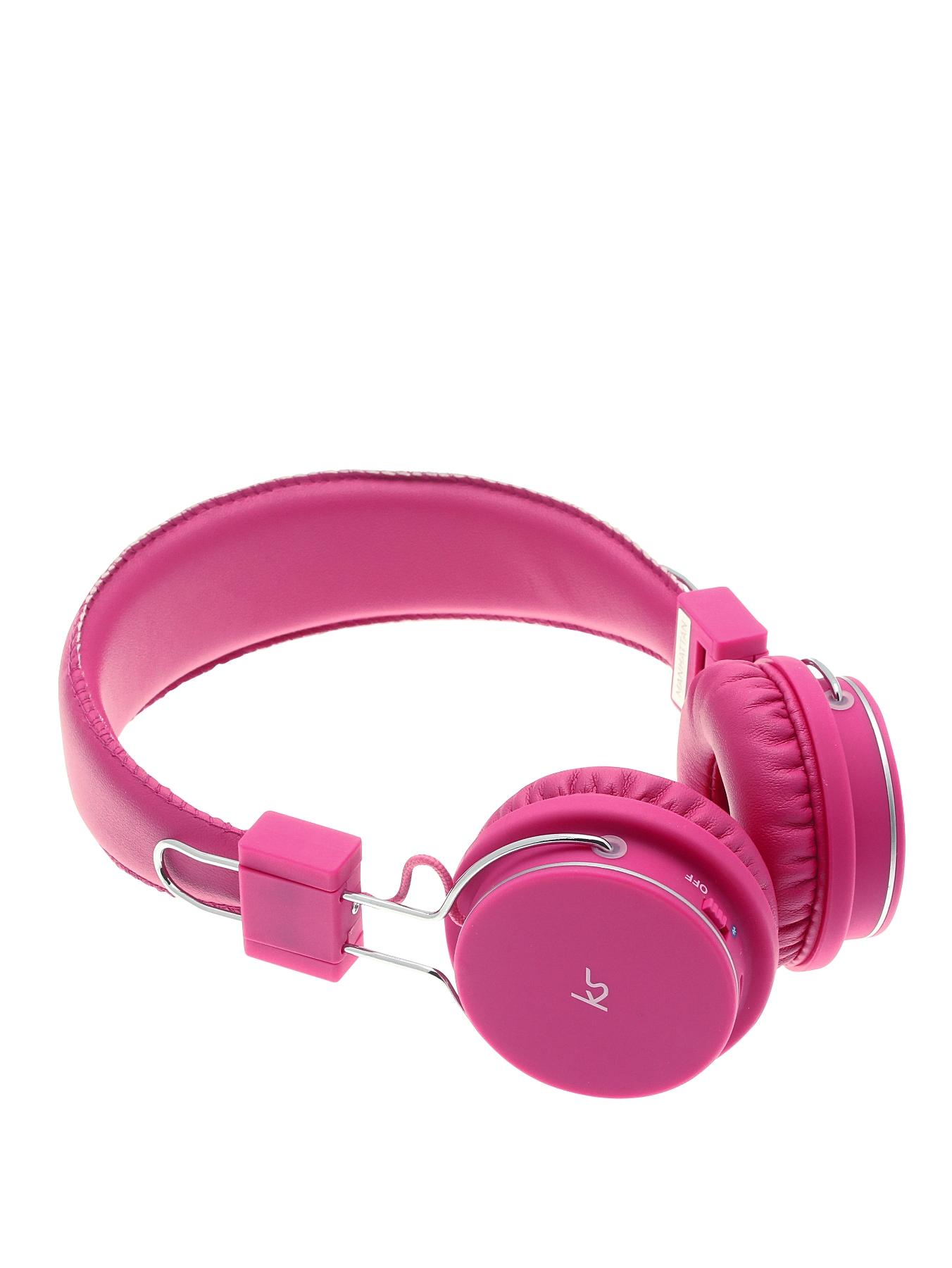 Manhattan Bluetooth Wireless Over Ear Headphones With Mic - Pink