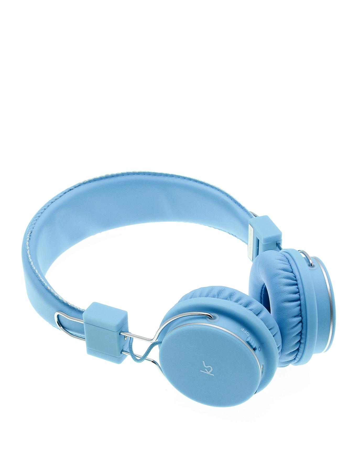 Manhattan Bluetooth Wireless Over Ear Headphones With Mic - Blue