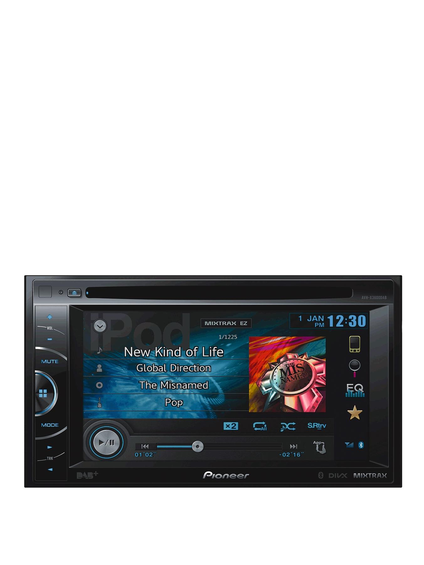 6.1 inch Touchscreen DVD/USB/MP3 Car Stereo Receiver with Bluetooth