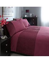 Heat Set Panel Duvet Cover and Pillowcase Set