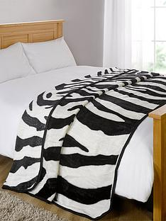 fleece-throw-zebra-mink