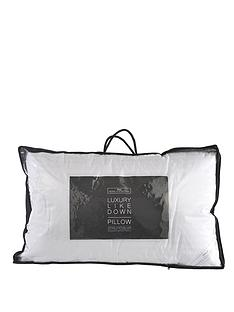 hotel-collection-cotton-cover-like-down-pillow