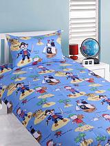Ahoy Pirates Single Duvet Cover Set