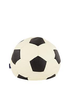 football-faux-leather-beanbag