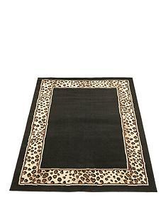 leopard-border-rug