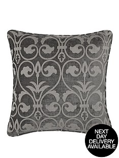 laurence-llewelyn-bowen-chenille-jacquard-filled-cushion
