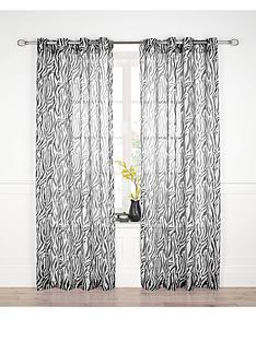 zebra-eyelet-voile-curtains