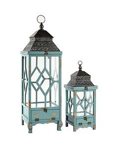 set-of-2-vintage-effect-lanterns