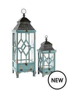 set-of-2-vintage-effect-lanterns